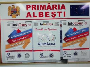Primaria Albești, judetul Vaslui - InfoCons - ProtectiaConsumatorului - ProtectiaConsumatorilor