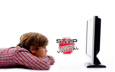 Știați că vizionatul excesiv la televizor poate declanșa copiilor Autism Virtual?