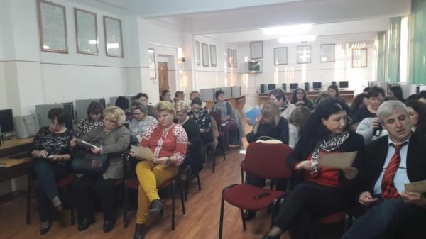 Reprezentanţi InfoCons participă la un nou Traning la locul de muncă