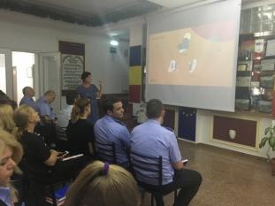 InfoCons participă la un alt Training la locul de muncă din cadrul Proiectului European