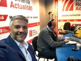 Domnul Sorin Mierlea în direct la Radio România Actualități
