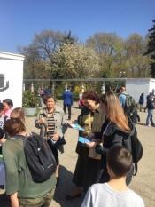 Reprezentanții InfoCons participă la evenimentul dedicat Zilei Jandarmeriei Române în Parcul Herăstrău