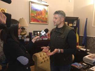 Domnul Sorin Mierlea a acordat un interviu pentru postul de televiziune Național TV