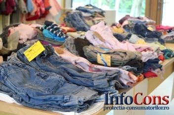 Aproape 1000 de operatori economici controlați de ANPC, în toată țara, privind modul de comercializare, marcare și etichetare a produselor textile