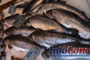 435 de operatori economici care comercializează pește și produse din pește, controlați de ANPC