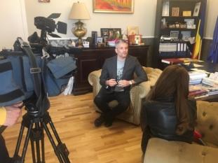 Domnul Sorin Mierlea, a acordat un interviu în cadrul știrilor Observator de la Antena 1