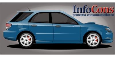 Mașini cumpărate sau luate în leasing