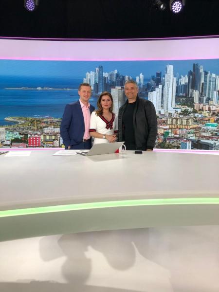 Domnul Sorin Mierlea în direct la postul de televiziune Antena 1