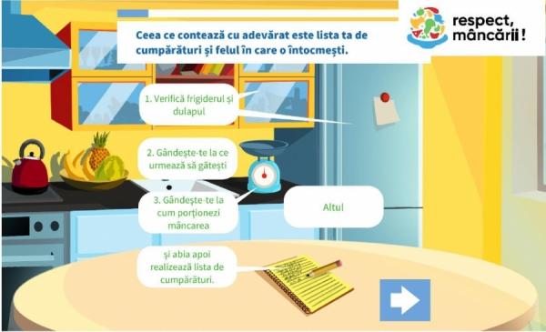 Printr-un simplu test interactiv poți reduce risipa alimentară!