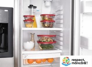 Păstrarea  inteligentă a alimentelor !