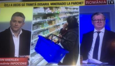 Domnul Sorin Mierlea, președintele InfoCons, în direct la România TV