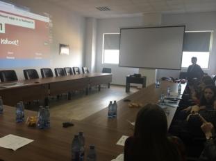 Reprezentanţi InfoCons au participat la un nou Training la locul de muncă