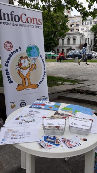 Ziua Europei este sărbătorită și în Parcul Colțea din București