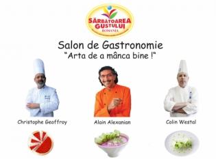 """InfoCons partener în cadrul Salonului de Gastronomie. """"Sărbătoarea Gustului"""""""