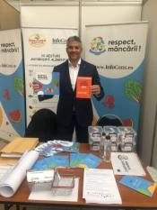 Domnul Sorin Mierlea, președintele InfoCons, participă la Conferința de deschidere a Salonului de Gastronomie