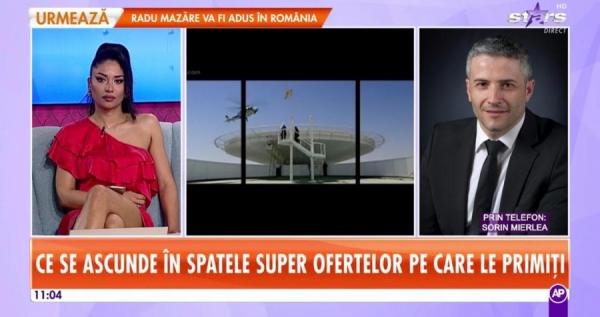 Preşedintele InfoCons, Sorin Mierlea în direct prin telefon la Antena Stars