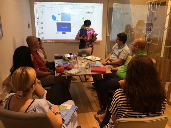Reprezentanții InfoCons vor participa la un nou Training la locul de muncă din cadrul Proiectului European