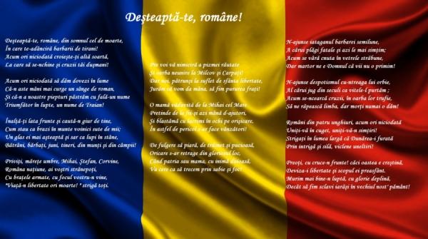 """Ziua Imnului Național - """"Deșteaptă-te, române!"""""""