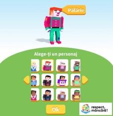Joc on-line interactiv – hai să salvăm cât mai multe fructe, legume și alte alimente!