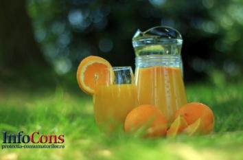 Sfaturi pentru consumatori la achiziția băuturilor răcoritoare și a sucurilor și nectarurilor din fructe