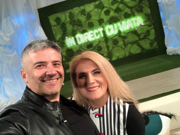 Domnul presedinte Sorin Mierlea in direct la TVR 2