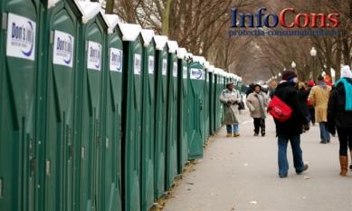 În București o singură toaletă publică pentru  10.000 de persoane !