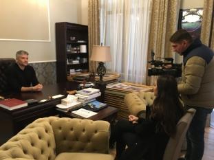 Domnul Sorin Mierlea, a acordat un interviu pentru Kanal D