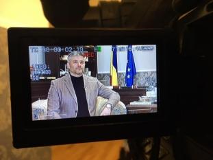 Domnul Sorin Mierlea interviu pentru Antena 3