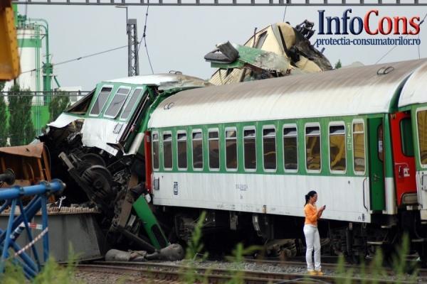 Număr de accidente feroviare este în scădere