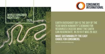 15 martie – Ziua Mondială a Drepturilor Consumatorilor – Consumatorul Sustenabil