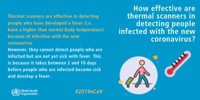 Cât de eficiente sunt scanerele termice în detectarea persoanelor infectate cu noul coronavirus?