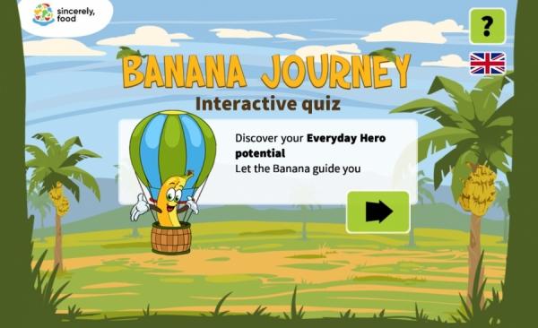 Ți-e foame și te grăbești să ieși din casă. Ce banană vei lua cu tine?