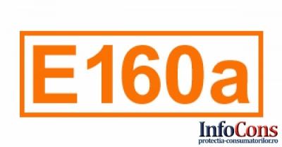 Definiție pentru E 160a