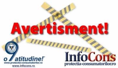 Avertisment Național  Protecția Consumatorilor
