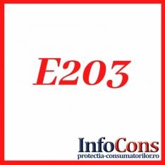 Definiție pentru E 203