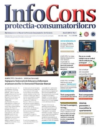 Din activitatea Infocons -  Lansare Ziarul InfoCons nr. 4 - Anul 2