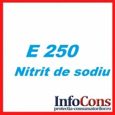 Nitrit de sodiu - E250 - Știți ce reprezintă?