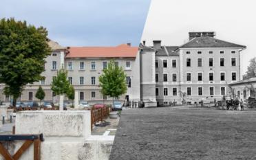 Ieri și Azi - Cazarma Pionierilor Franz Josef
