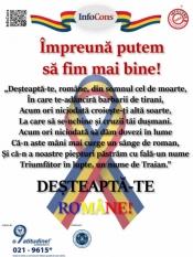 Pentru o Românie mai buna, doar împreună! Deșteaptă-te, române!