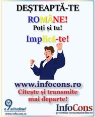 Pentru o Românie mai buna, doar împreună! Deșteaptă-te, române! Poți și tu! Implică-te!