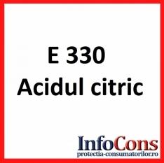 Definiție E 330 - Acid citric