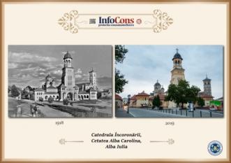 Ieri și Azi - Catedrala Încoronării - Alba Iulia