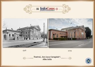 Ieri și Azi - Teatrul I.L. Caragiale - Alba Iulia