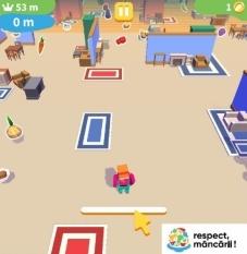 Un joc distractiv și educativ ! Risipa de alimente!