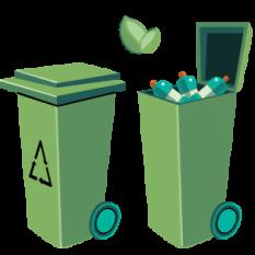 Reutilizați și reciclați!