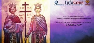 La mulți ani cu ocazia Sf. Constantin și Elena