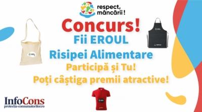 #CONCURS - FII EROUL RISIPEI ALIMENTARE!
