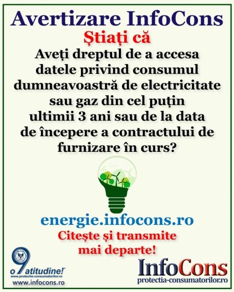 Stiati ca.. energia electrica si gaze naturale!