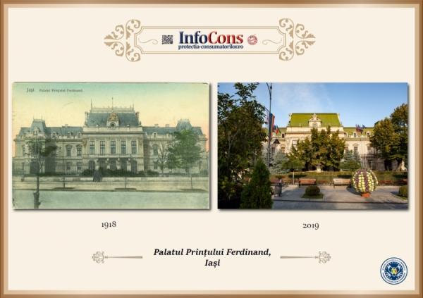 Ieri si Azi - Palatul Roznovanu