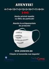 Alerta europeana protectia consumatorilor - numerciul mastilor de protectie neconforme a ajuns la 106!